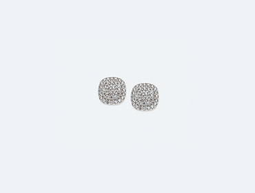 Silver Cubic Earrings img
