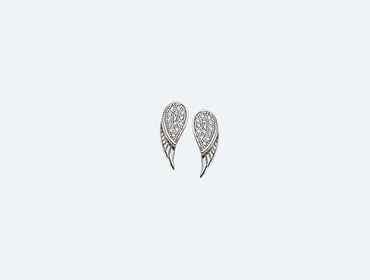 Silver Wing Earrings img