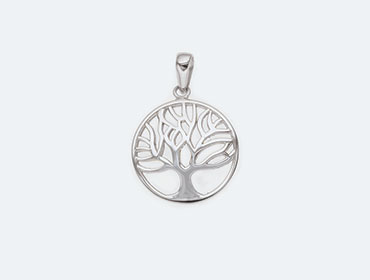 Silver Tree of Life Pendants img