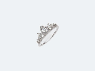 925 Silver Crown Ring img