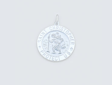 Silver St Christopher Pendants img